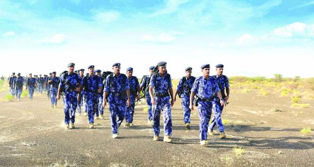 أكاديمية السلطان قابوس لعلوم الشرطة تنفذ التمرين العملياتي للضباط المرشحين