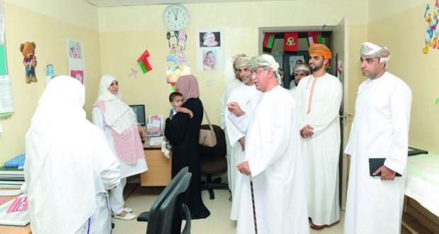 وزير الصحة يزور عددا من المؤسسات الصحية بشمال الشرقية
