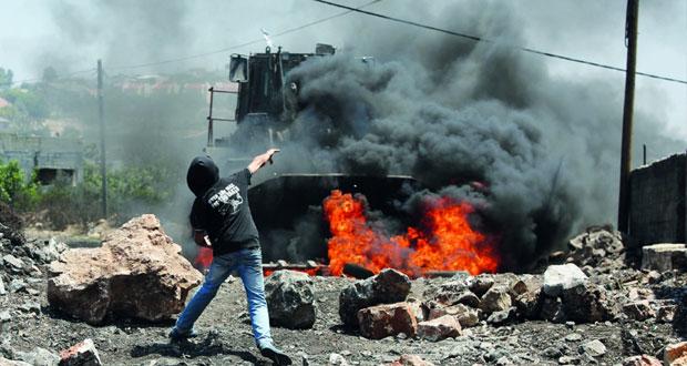 قوات الاحتلال تشن حملة اعتقال وقمع بالضفة المحتلة وغزة