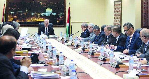 الحكومة تثمن الجهود العربية للم الشمل الفلسطيني