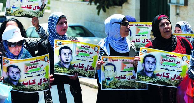 60 يومًا على إضراب كايد .. العفو الدولية تطالب سلطات الاحتلال البت في أمره ودعوات لدعمه بمعركته