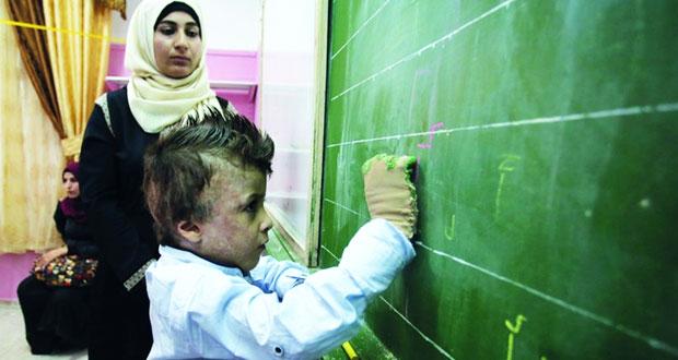 الاحتلال يقتحم مدرسة ذكور عز الدين القسام الثانوية فـي يعبد جنوب جنين