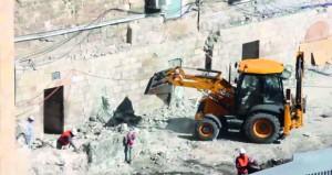 تجهيزات إسرائيلية عملية لبناء هيكلهم المزعوم على أنقاض الأقصى