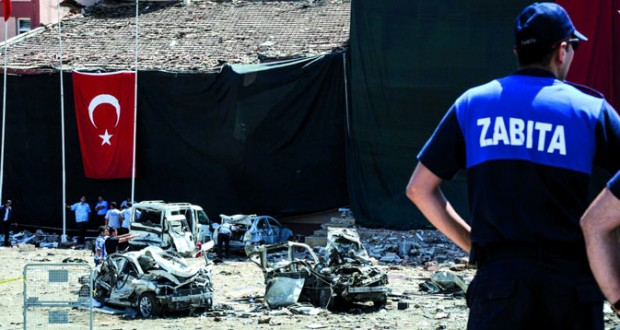 تركيا: 230 بين قتيل وجريح فـي هجومين استهدفا الشرطة .. واتهامات لـ«الكردستاني»