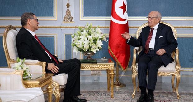 تونس : السبسي يرشح يوسف الشاهد لرئاسة الحكومة