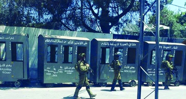 الاحتلال يفتح النار بـ (عايدة) وغزة ويبلطج ويعتقل بالضفة المحتلة