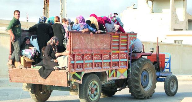 الجيش السوري يتقدم في حلب ويستهدف معسكراً لإرهابيين بدير الزور