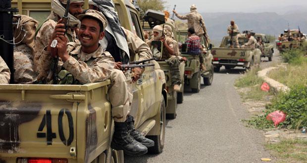 اليمن: التحالف يتصدى لصاروخين باليستيين جنوب السعودية .. ويواصل غاراته