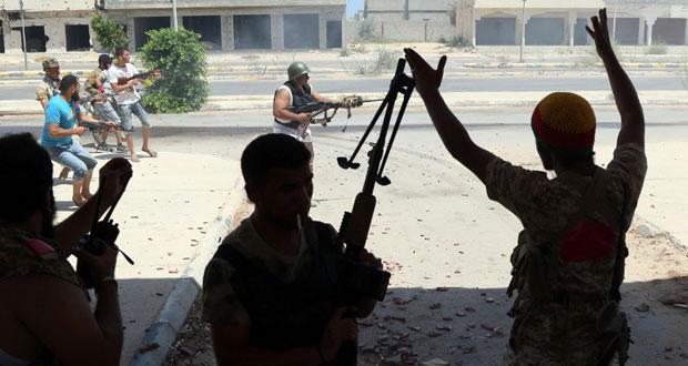 ليبيا: قوات (الوفاق) تحرز تقدما في سرت على طول الساحل