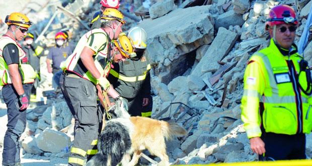 زلزال إيطاليا: حداد وطني وجنازة جماعية وعدد الضحايا يلامس الـ300