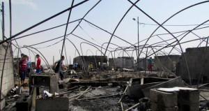 العراق يخمد حرائق فـي 4 آبار نفطية بعد استعادتها من «داعش»