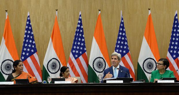الهند وأميركا تتفقان على تعزيز التعاون العسكري