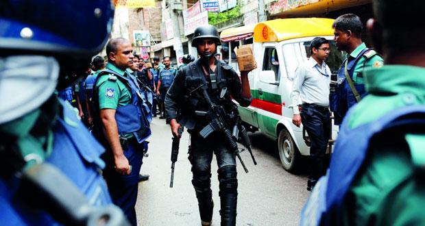 بنجلاديش: اعتقال اثنين بينهما بريطاني لصلتهما بهجوم دكا