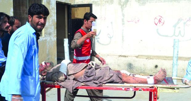 باكستان: 13 جريحا بانفجار قنبلة بمدينة كويتا
