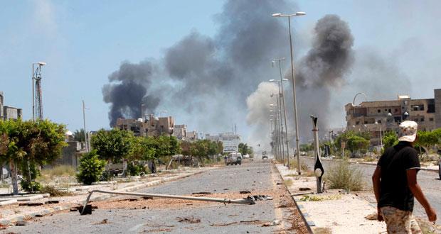 ليبيا: قوات الوفاق تستأنف تقدمها بمعركة تحرير سرت