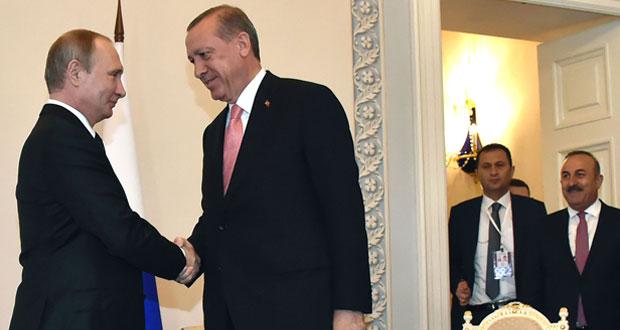 قمة روسية تركية في سان بطرسبرغ تمهد لعودة سريعة للعلاقات