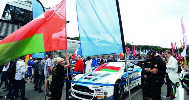 فريق عمان لسباقات السيارات سابعا من بين 70 فريقا