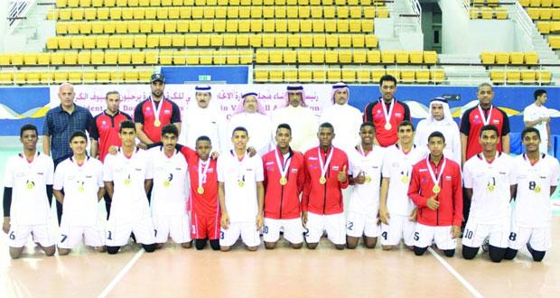 منتخب براعم الكرة الطائرة يحقق المركز الثاني في المهرجان الخليجي الثاني للصغار بالبحرين