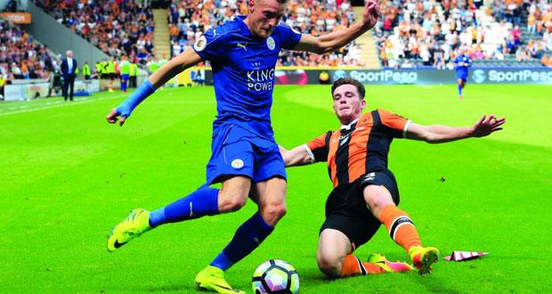 في الدوري الإنجليزي : ليستر سيتي يستهل حملة الدفاع عن لقبه بخسارة مفاجئة أمام هال سيتي