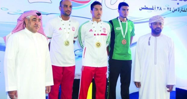 3 ميداليات فـي بدء مشاركة منتخبنا بخليجي السباحة