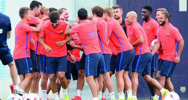 في كأس السوبر الإسبانية : برشلونة لتكرار الفوز على اشبيلية برغم الغيابات