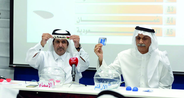 منتخبنا يلاقي البحرين في اليوم الأول لمنافسات بطولة المنتخبات الخليجية لمواليد 1997