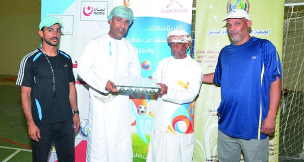 دائرة الشؤون الرياضية بشمال الشرقية تنظم فعاليات اليوم الرياضي للمسنين