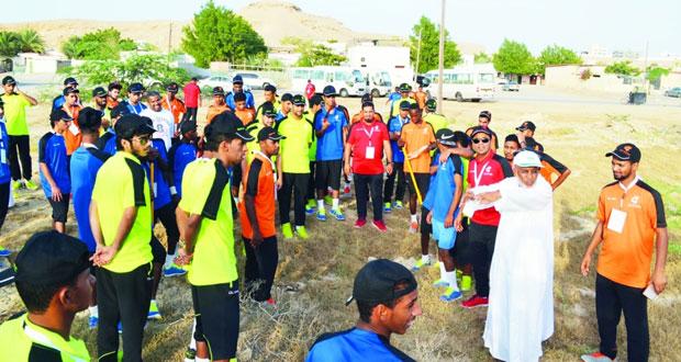 اليوم .. ختام معسكر شباب الأندية الثاني 2016 بالمجمع الرياضي بصور