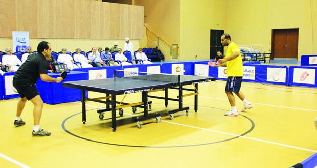 معسكر تدريبي مشترك للاعبين العمانيين والكويتيين استعدادا لبطولة «مهرجان صلالة» لكرة الطاولة