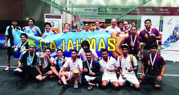 منتخبنا للسبكتاكراو يحرز برونزية بطولة الإمارات الثانية