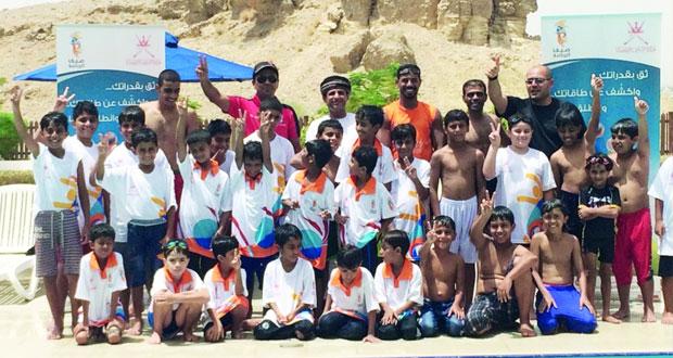 دائرة الشؤون الرياضية بمحافظة جنوب الشرقية تواصل تفعيل فعاليات مراكز صيف الرياضة بالتدريب والتعليم
