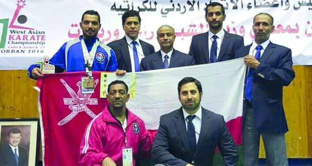 معن الرئيسي يحصد ميداليتين برونزيتين في بطولة غرب آسيا للكاراتيه بالأردن