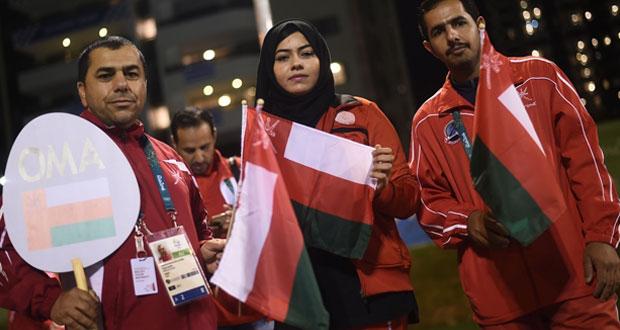 البعثة العمانية الرياضية فى جاهزية للمشاركة فى الافتتاح الرسمى الالعاب الاولمبية ريو 2016