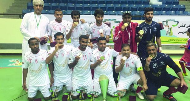 منتخب السلطنة يحصد الألقاب ويتوج بكأس بطولة الخليج للإعلاميين