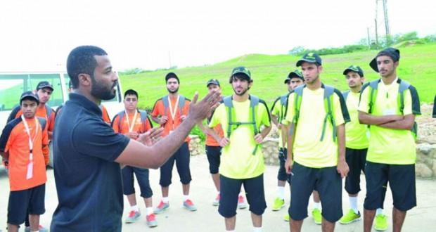 تواصل فعاليات معسكر أندية محافظة ظفار