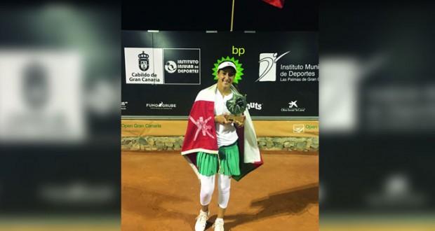 النبهانية تحقق المركز الثاني في بطولة إسبانيا للتنس