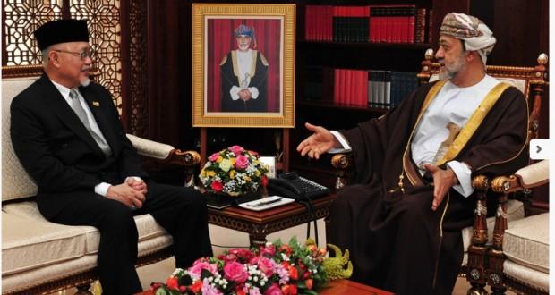 نيابة عن جلالة السلطان هيثم بن طارق يستقبل سفير بروناي