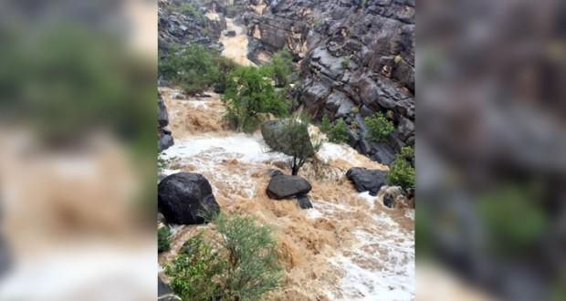 أمطار على عدد من ولايات السلطنة