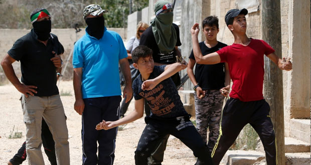 الاحتلال يصيب 6 فلسطينيين في مواجهات على حدود غزة