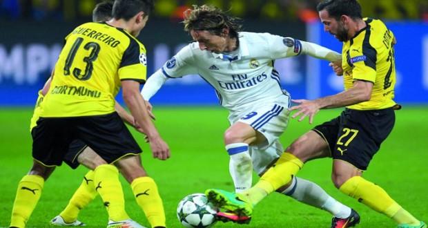 ريال مدريد يعود بتعادل ثمين من دورتموند وانتصار كبير ليوفنتوس