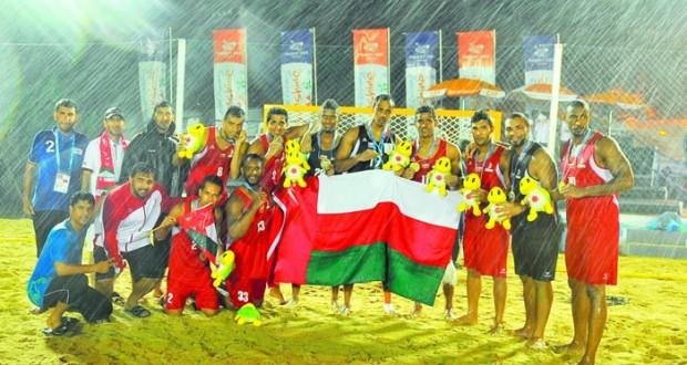 منتخبنا للقدم الشاطئية يتنافس في المجموعة الثانية مع قطر ولبنان يد منتخبنا الشاطئية تلاقي كلا من اليابان ومنغوليا في المجموعة الثالثة