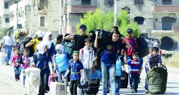 سوريا: نقل العشرات من المعضمية إلى حرجلة .. والجيش يقضي على تجمعات للإرهابيين في درعا