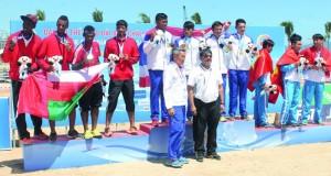 منتخب القوى في سباق التتابع يهدي السلطنة الميدالية الثانية