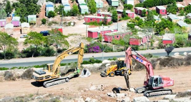 الفلسطينيون ينتقدون اكتفاء العالم بإدانة الاستيطان ويحذرون من فرض سياسة الأمر الواقع
