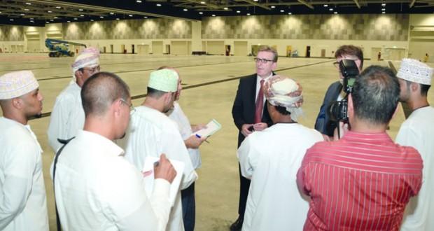 100% نسبة الإنجاز بالمرحلة الأولى من مشـروع مركز عمان للمؤتمرات والمعارض