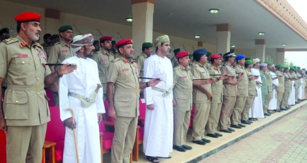 قوات الفرق بالجيش السلطاني العمانــي تحتفل بتخريج دفعة من الجنود المستجدين