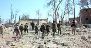 سوريا : الجيش يسيطر على (الراموسة) بحلب وإخلاء مسلحين من المعضمية