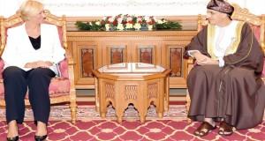 فهد بن محمود يبحث مع وزيرة الدفاع الإيطالية آفاق التعاون المستقبلي بين البلدين