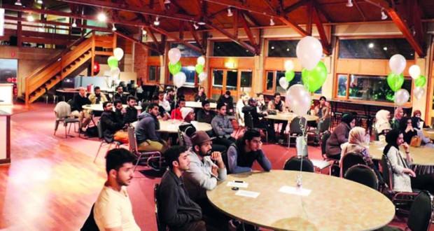 الطلبة العمانيون بإستراليا ينظمون أمسية علمية
