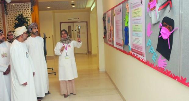 المستشفى السلطاني يدشن الحملة الوطنية حول «الإدراك المبكر للتجرثم والصدمة الـدموية»